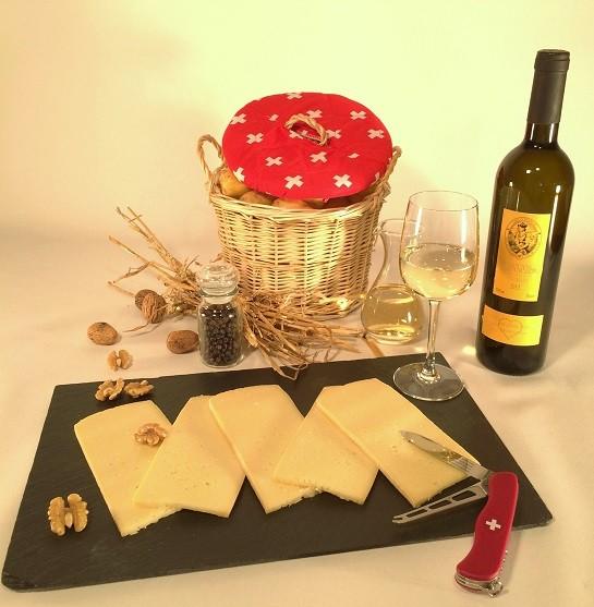 Raclette Knoblauch 500g
